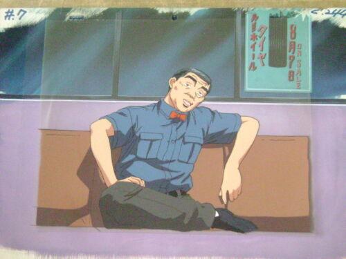 INITIAL D SHIGENO SHUICHI ANIME PRODUCTION CEL 3