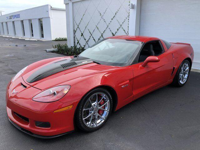 2009 Red Chevrolet Corvette Z06 2LZ   C6 Corvette Photo 6