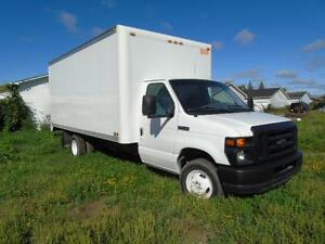 2008 FORD E350 ECONOLINE 16 foot box ROLL UP DOOR WE FINANCE!!!