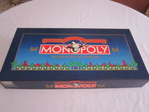 Vintage 1984 Monopoly Deluxe Anniversary Edition Complete
