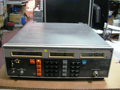 Marconi 2019 80khz-1080mhz Signal Generator