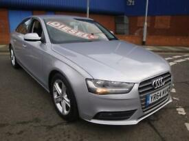 64 AUDI A4 SE TECHNIK TDI DIESEL SALOON *SATNAV*LEATHER*SENSORS* £30 TAX