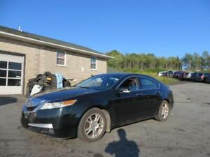 LOW MILEAGE! 2010 Acura TL w/Tech Pkg NAVIGATION ! FULLY LOADED