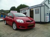2008 TOYOTA AURIS TR D-4D ,FULL YEARS MOT,!! ALL CREDIT CARDS/DEBIT CARDS ACCEPTED!!