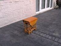 Solid Pine Drop Leaf Gateleg Occastional Table