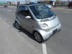 SMART FORTWO 2005 DIESEL CUIR DECAPOTABLE***VISA*MASTER*CARD**AC