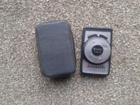Boots Cds-9 Light Meter with case.