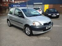 TOYOTA YARIS 1.0 - LONG M.O.T - ONE FAMILY OWNED FROM NEW - EXCELLENT CHEAP CAR