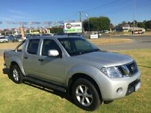2013 Nissan Navara D40 MY12 ST (4x4) Silver 5 Speed Automatic Dual Cab Pick-up Maddington Gosnells Area Preview