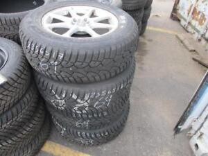 235/65 R17 FORD EDGE WINTER TIRES AND RIMS PACKAGE (SET OF 4) - USED GENERAL ALTIMAXX ARTIC TIRES APPROX. 90% TREAD