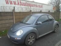 breaking for spares volkswagen beetle 2006 1.6p