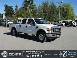 2010 FORD F-250 SUPER DUTY XLT CREW CAB SHORT BOX 4X4