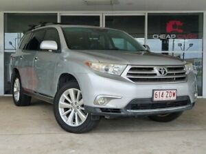2010 Toyota Kluger GSU40R Grande 2WD Silver 5 Speed Sports Automatic Wagon Brendale Pine Rivers Area Preview