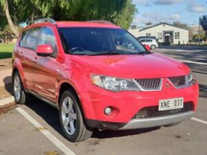 2007 Mitsubishi Outlander ZG MY07 XLS Red 6 Speed Constant Variable Wagon Prospect Prospect Area Preview