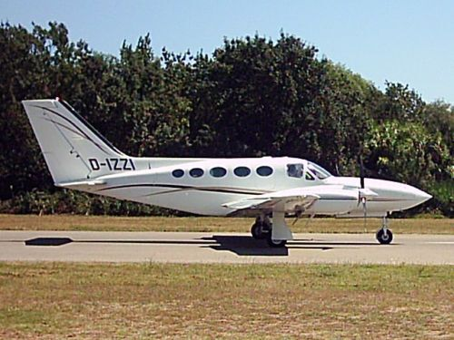 Giant 1/4 Scale Cessna 421 Golden Eagle Plans and Templates 118ws