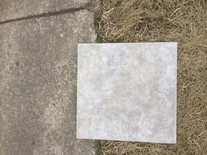 4 1/2 boxes of 12 X 12 ceramic tile - 1.5 sq mtrs coverage/box