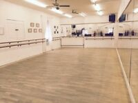 Professional Studio - Rehearsal - Dance - Theatre - Art Space - £20 per hour