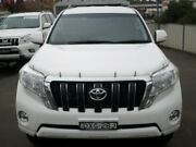 2016 Toyota Landcruiser Prado GDJ150R GXL White 6 Speed Sports Automatic Wagon Young Young Area Preview