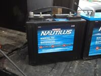 Marine/RV Nautilus Group 24 starting & deep cycle battery