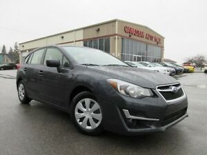 2016 Subaru Impreza 2.0i AWD, CAMERA, BT, JUST 13K!