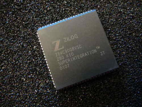 ZILOG Z84C9008VSC I/O Controller Interface IC 8MHZ Z80 KIO 84-PLCC **NEW**