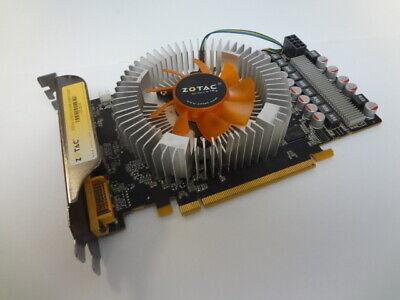 Zotac GTS250 512MB 256BIT DDR3 VGA DVI Video Card Tested and Working! ()