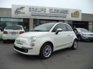 Fiat 500 LOUNGE- CONVERTIBLE-CUIR-BOSE 2012