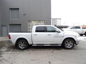 2012 Ram 1500 4WD CREWBAC LARAMIE Leather,  Heated Seats,  Back- Edmonton Edmonton Area image 9