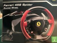 Ferrari 458 Spider Racing Wheel with Wheel Stand Pro