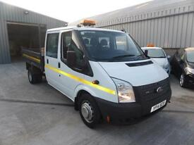 FORD TRANSIT 350 DOUBLE CAB TIPPER