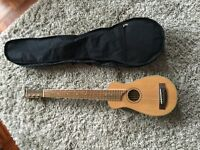 Acoustic 'travel sized' guitar