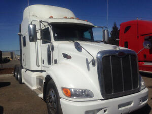 Call Syed for 2012 Peterbilt 386 70' Double bunk,Hp 500,18 Spd