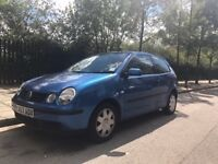 2004 VOLKSWAGEN POLO SPECIAL EDITIONS - 1.2 Twist 3dr SERVICE HISTORY