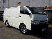 2011 Toyota Hiace TRH201R MY11 Upgrade LWB White 5 Speed Manual Van East Victoria Park Victoria Park Area Preview