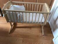 Mothercare Baby Swinging Crib- As good as new