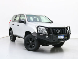 2017 Toyota Landcruiser Prado GDJ150R MY16 GX (4x4) Silver 6 Speed Automatic Wagon Jandakot Cockburn Area Preview