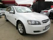 2010 Holden Commodore VE MY10 Omega White 6 Speed Automatic Sportswagon Hoppers Crossing Wyndham Area Preview