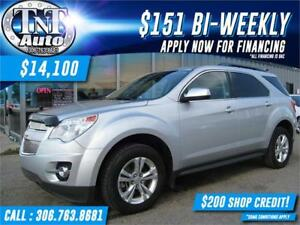 2011 Chevrolet Equinox 2LT AWD-HEATED LEATHER-SUNROOF-REAR CAM
