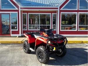 SOLD!!! 2014 CAN AM OUTLANDER 800R