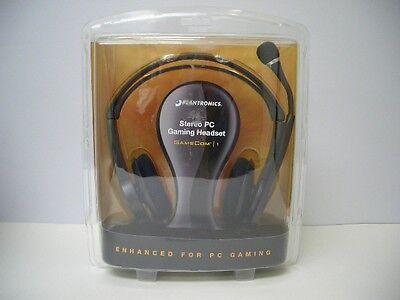 Plantronics Gamecom 1 Circumaural Stereo Gaming PC Headset with Dual  3.5mm Plug