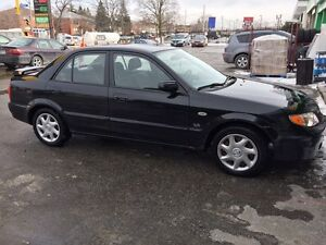 2003 Mazda Protege Sedan, Great Shape with Winter Tires