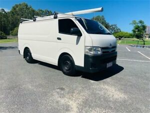 2012 Toyota HiAce TRH201R MY12 Upgrade LWB White 5 Speed Manual Van Southport Gold Coast City Preview