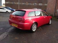 54reg ALFA ROMEO 156 JTD TURISMO ESTATE DIESEL - ONLY 68K MILES, AND NEW M.O.T