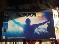 Playstation 3, Guitar Hero Live
