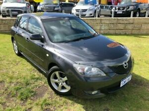 2006 Mazda 3 BK10F2 Maxx Sport Grey 4 Speed Sports Automatic Hatchback