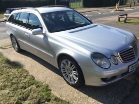 2007 Mercedes E220 CDI Auto Estate Diesel Drives excellent service History