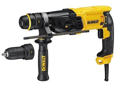 DeWalt D25134K SDS 800 Watt Hammer Quick Change Chuck 240v
