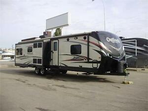 **$149 b/w (oac)** LUXURY TRIPLE SLIDE COUPLE'S TRAILER, SLEEP 6
