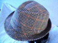 Men's classic Trilby hat
