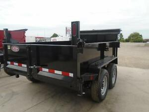 COMBO GATE HYDRAULIC DUMP TRAILER 6X10 5 TON -GET YOURS TODAY London Ontario image 3